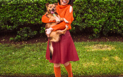 Scooby Doo Dog and Owner Halloween Costume