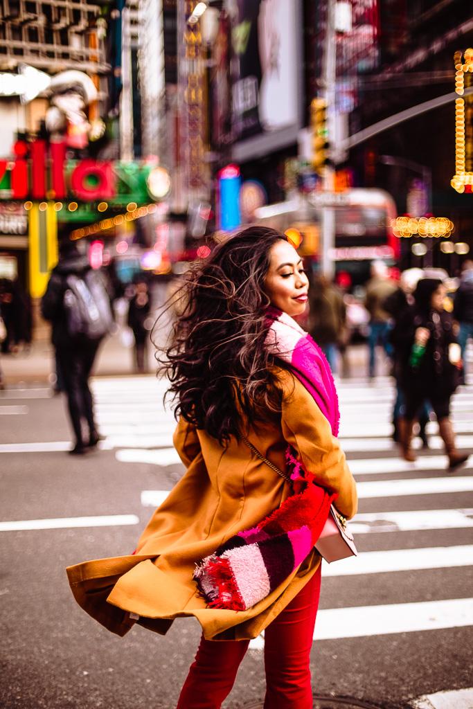 New York Fashion Week Reesa Rei